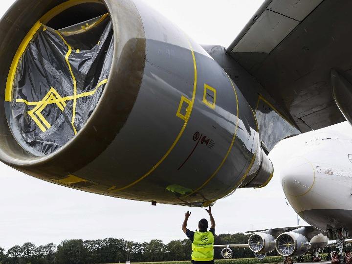 波音747货机空中掉部件 荷兰启动调查