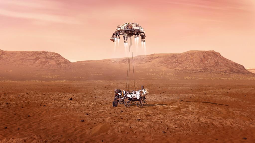 """""""毅力""""号火星车首次在火星制氧"""