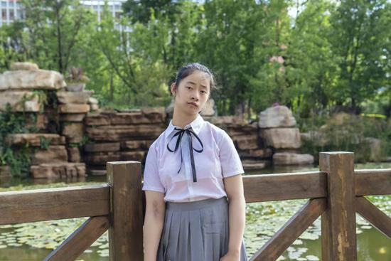 残疾女孩杜鑫波:从无力到有力