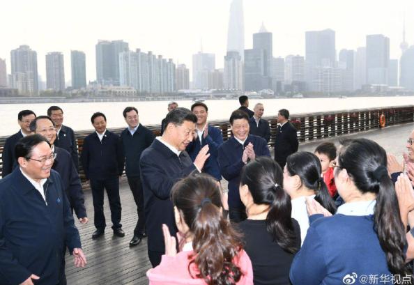 习近平在上海考察调研