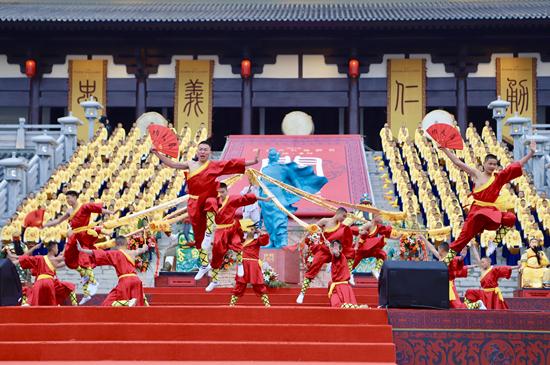 2019湖北当阳第十届关公文化旅游节开幕