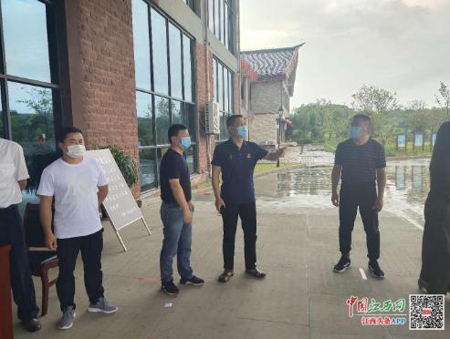 江西省文旅厅开展疫情防控执法巡查 提升安全健康服务环境
