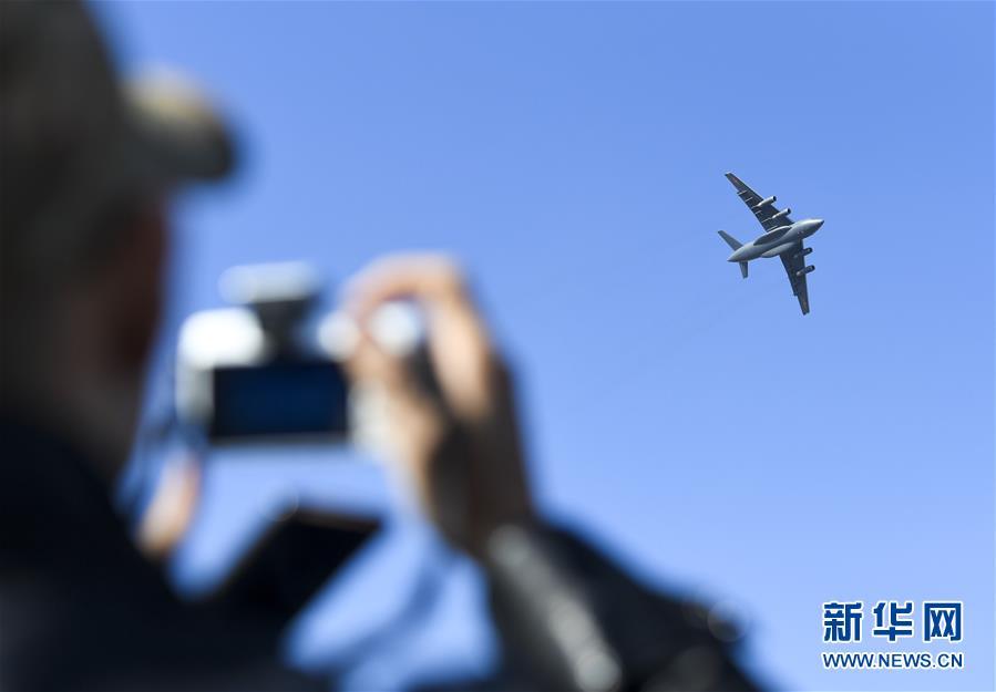 (军事)(3)歼-20、运-20首次在东北地区进行飞行展示