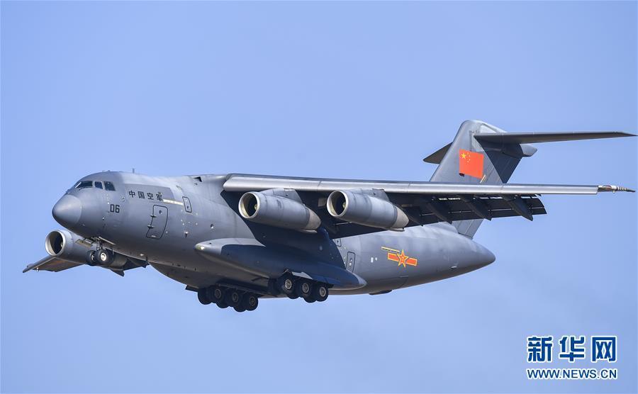 (军事)(5)歼-20、运-20首次在东北地区进行飞行展示
