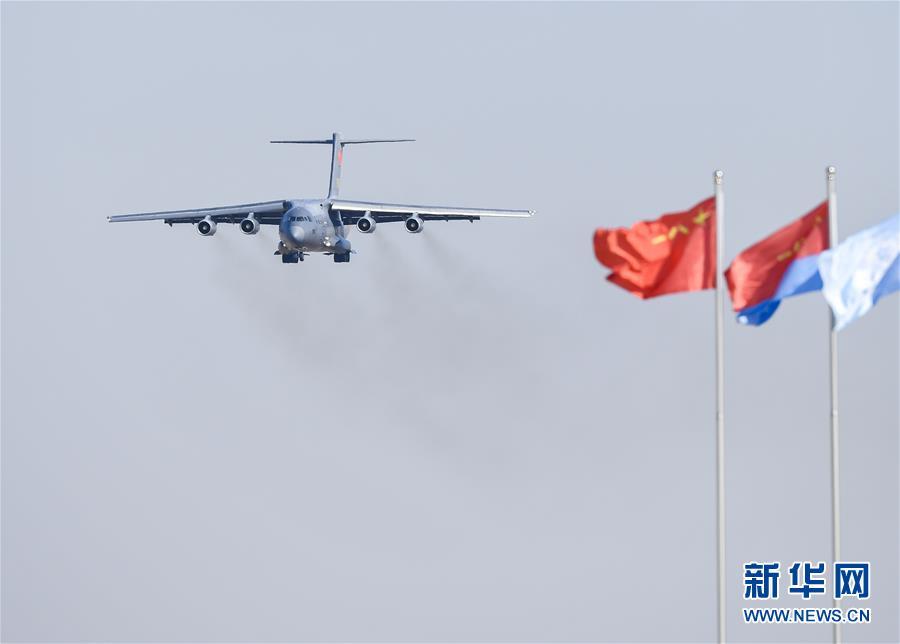 (军事)(4)歼-20、运-20首次在东北地区进行飞行展示
