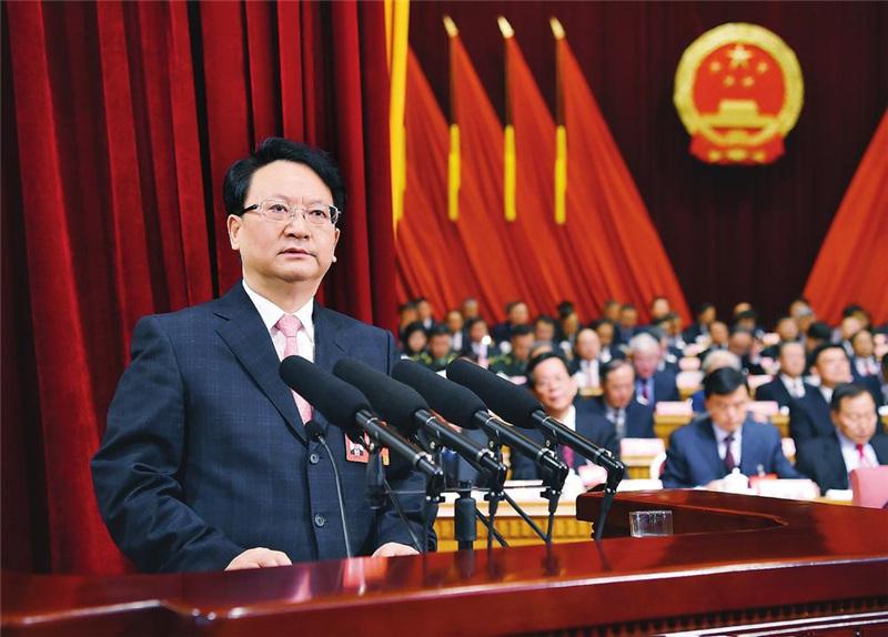吉林省十三届人大三次会议开幕
