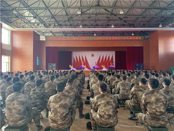 文化進萬家|省直聯合小分隊走進圖們邊防部隊開展慰問演出