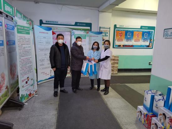 长春九州通医药有限公司为防控疫情积极捐赠医疗物资