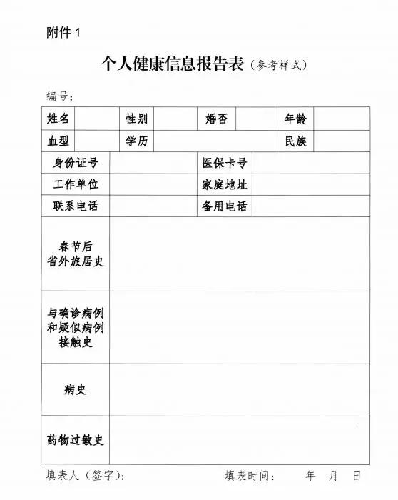 吉林省机关企事业单位复工疫情防控指南(1.0版)