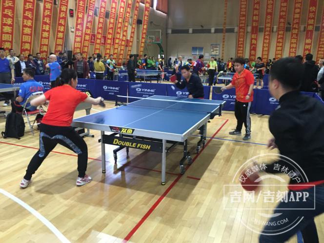 """东北三省第九届""""银河·铂力杯""""全民健身乒乓球联赛开拍"""