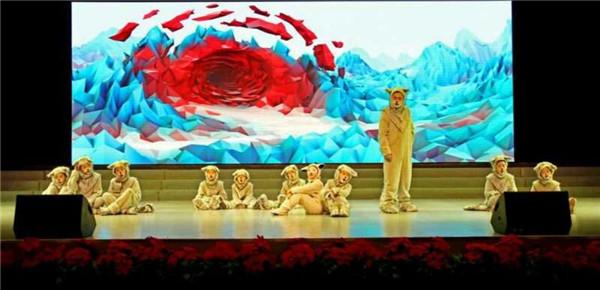 颠覆想象 与众不同的原创童话剧《狼小羊》蹦跳出场