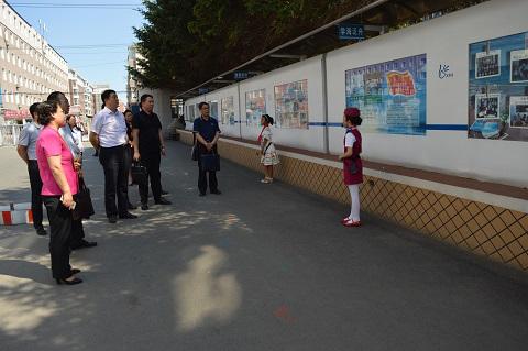 长春市委组织部对德惠市民办学校和中小学校党建工作开展专项督查