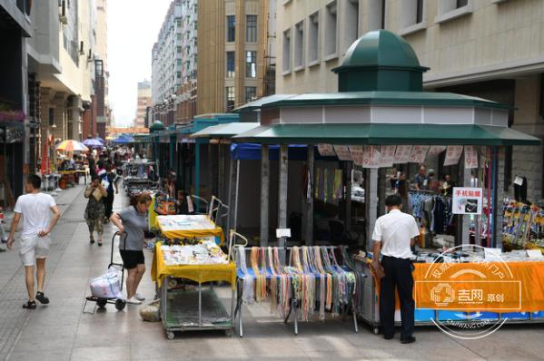 长春长江路步行街中央商业岛预计9月启用