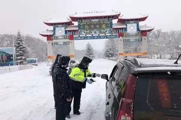 吉林森林公安交警全力保障春节假期林区道路交通安全有序畅通