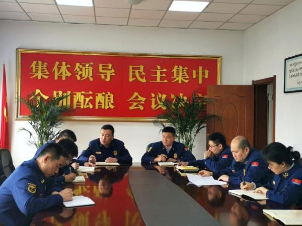 长春汽开区消防救援大队掀起党史学习热潮