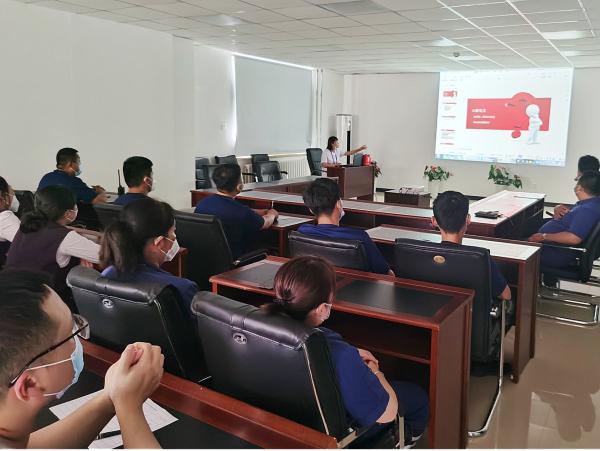 长白山机场分公司开展AED普及宣传培训活动