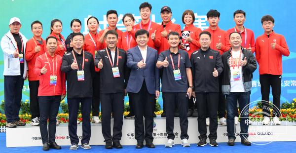 全运进行时丨吉林选手魏绍轩夺冠之后:这是我获得的首枚个人金牌,真的很激动