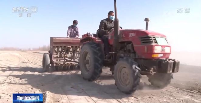 新疆:部分地区春小麦开始播种 确保丰产丰收